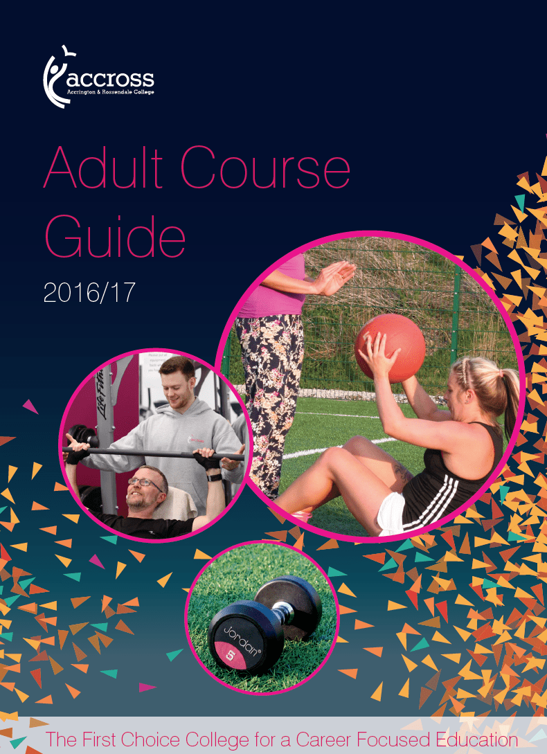 Sports Adult Course Guide