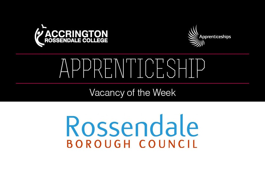 Apprenticeship Vacancy of the Week at Rossendale Borough Council