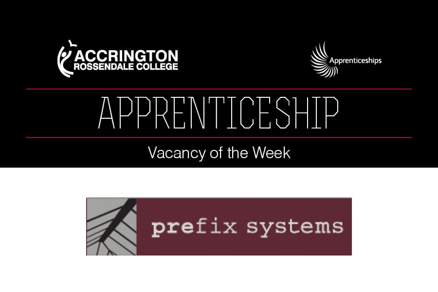 Apprenticeship Vacancy of Week - Prefix