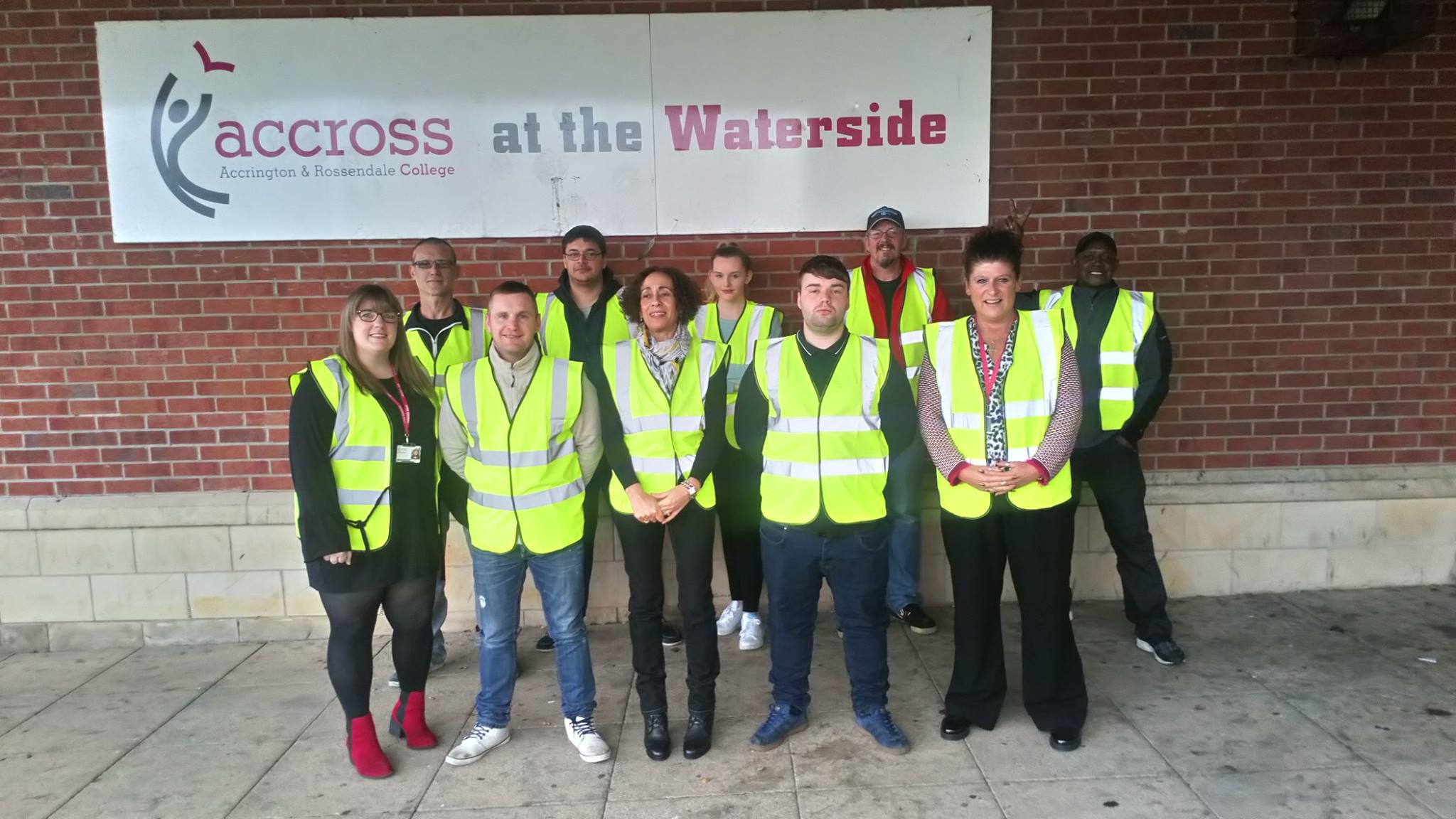 In the community at Accrington and rossendale college